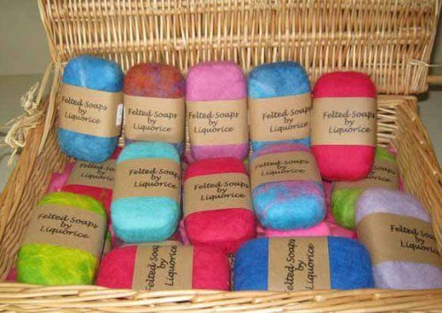 Learn how to make felted soap from home! You can create an array of personal designs with all sorts of different kinds of soaps. Aside from making personalized and handcrafted soap bars, felted soaps has quite a few other added benefits. It helps your soap last longer. The felt helps clean your skin