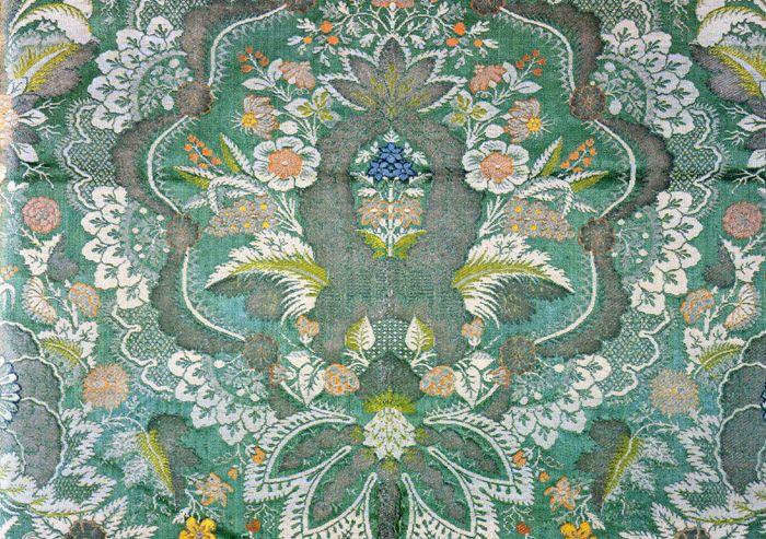 Французские ткани 17-18 века - Орнамент и стиль в ДПИ