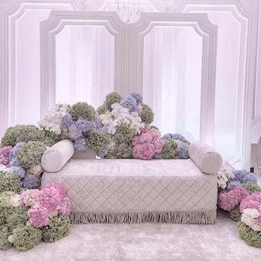 Wedding Nikah Simple Backdrop Decoration Muslim: 26 Best Images About Pelamin On Pinterest