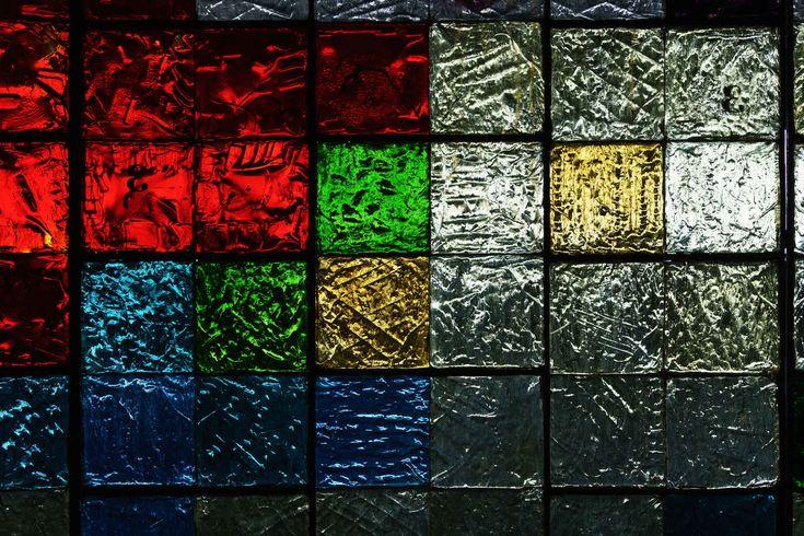 Glass Tiles Backlight Texture