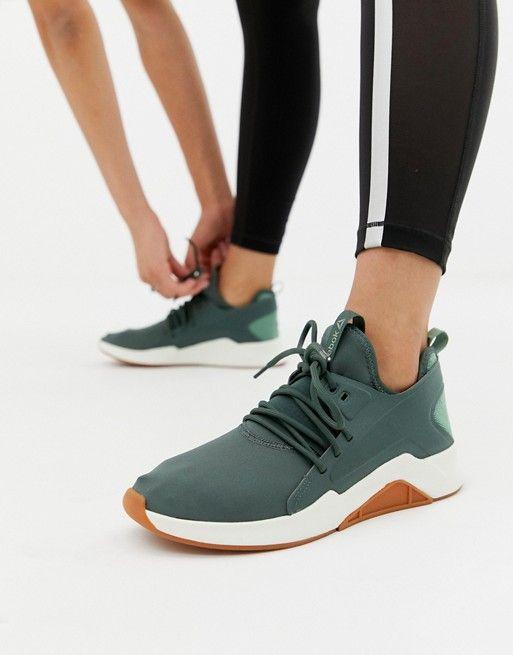 785aafa458b Reebok Training Guresu Sneakers In Green in 2019 | {kicks} | Shoes ...
