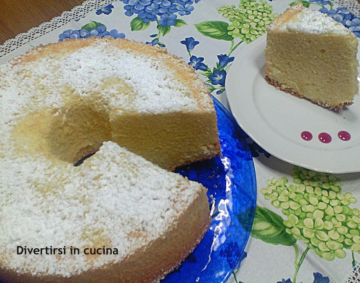 Chiffon Cake ciambella americana | Divertirsi in cucina