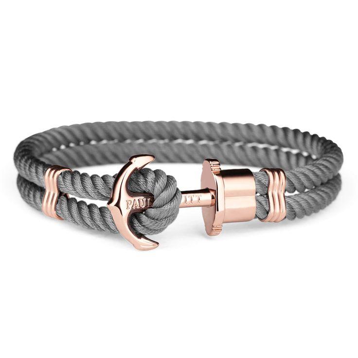 Ankerarmband aus Nylon in verschiedenen Farben - PAUL HEWITT
