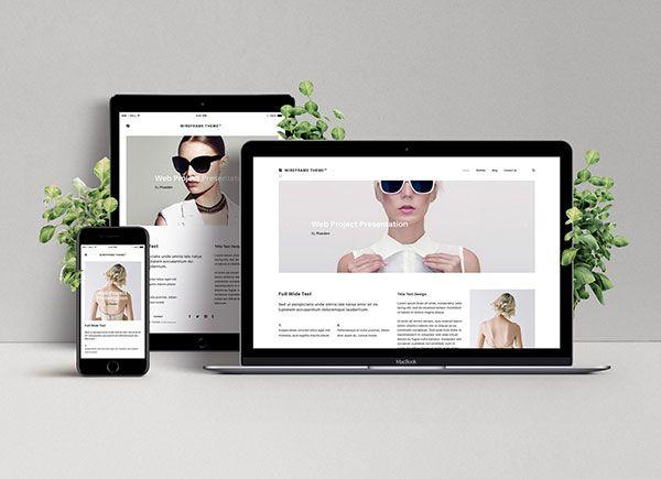 50 Must Have Free Premium Psd Mockups For Instant Design Approvals Website Mockup Free Web Design Web Design Templates Free