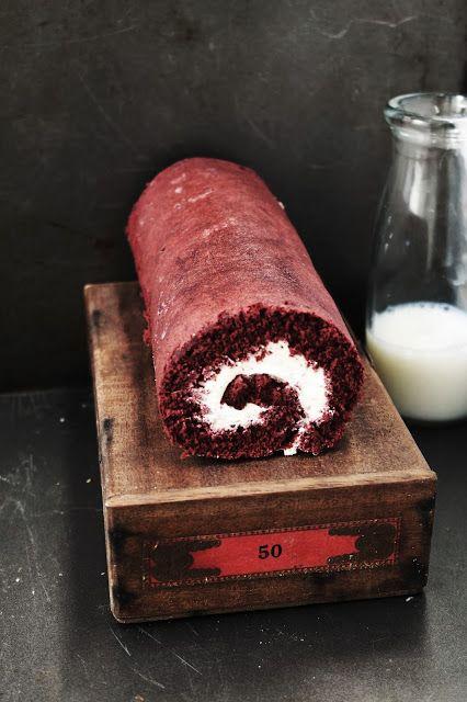..Twigg studios: red velvet roulade / roll cake pinned from Rock N Share #64