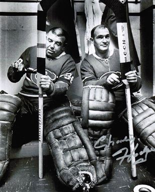 Gump Worsley & Charlie Hodge
