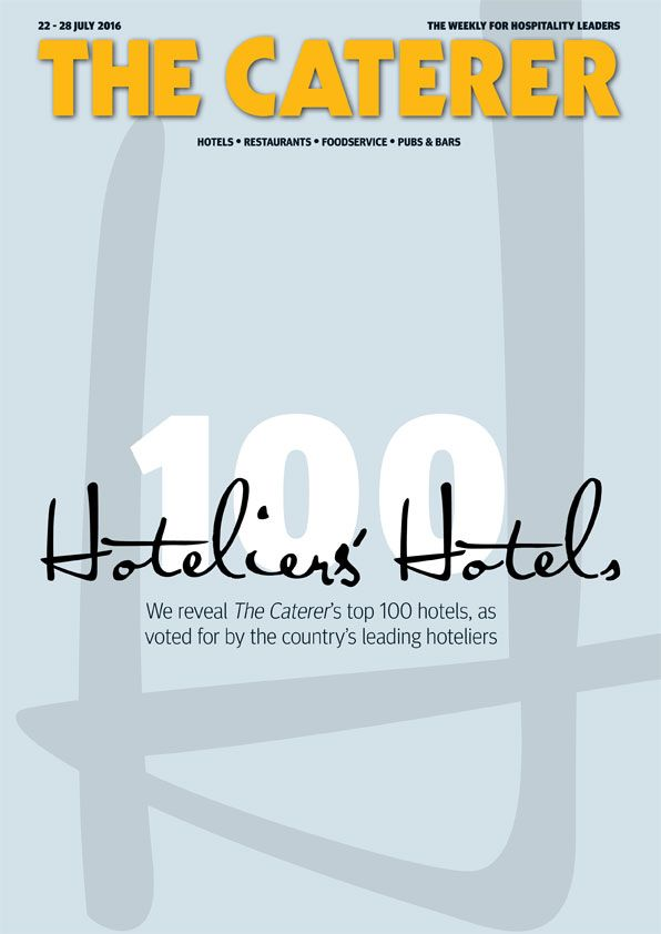 In this week's issue... We reveal The Caterer's top 100 hotels, as voted for by the country's leading hoteliers To subscribe go to: www.thecaterer.com/subscribe