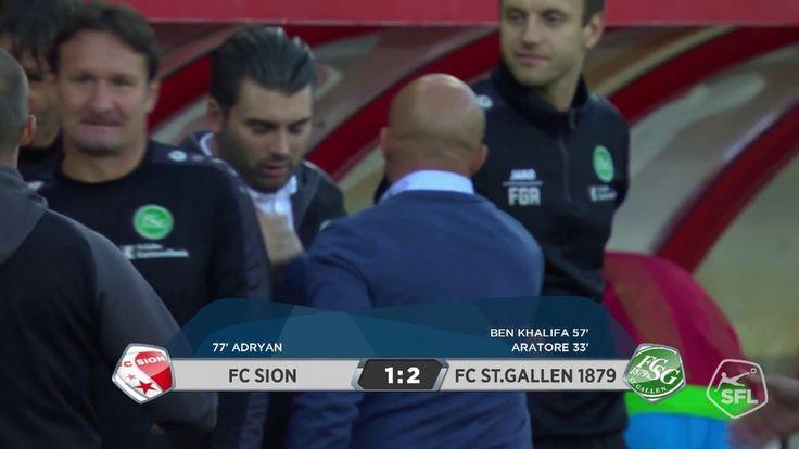 Spielzusammenfassung FC Sion - FC St.Gallen 1879