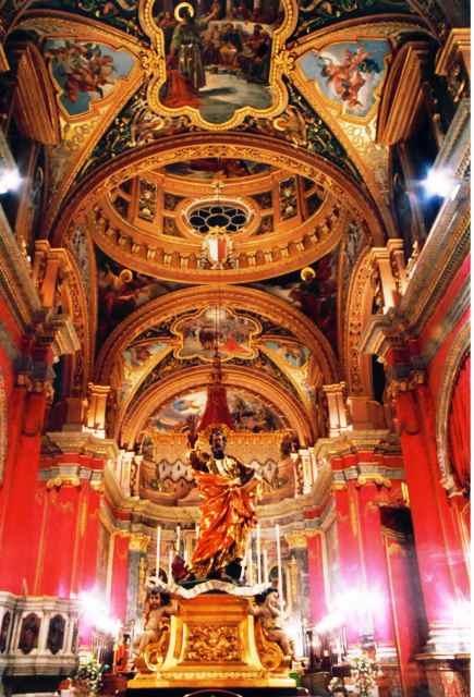 St. Paul Shipwrecked Church, Valletta, Malta, 10/23/1999