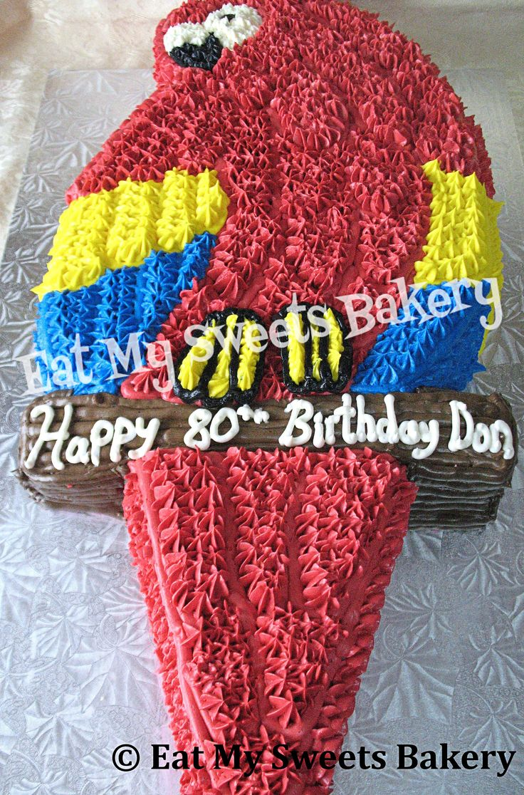 Specialty Cake- Pierre the Parrot