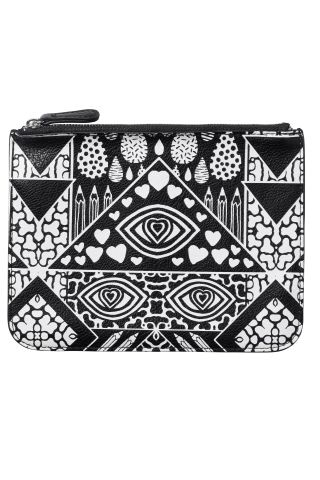 Eyes and hearts and prints on our wallet today!