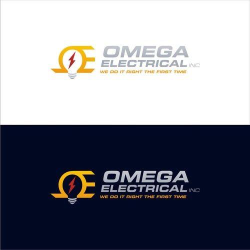 OMEGA ELECTRICAL INC - Electrician company needs a powerful logo