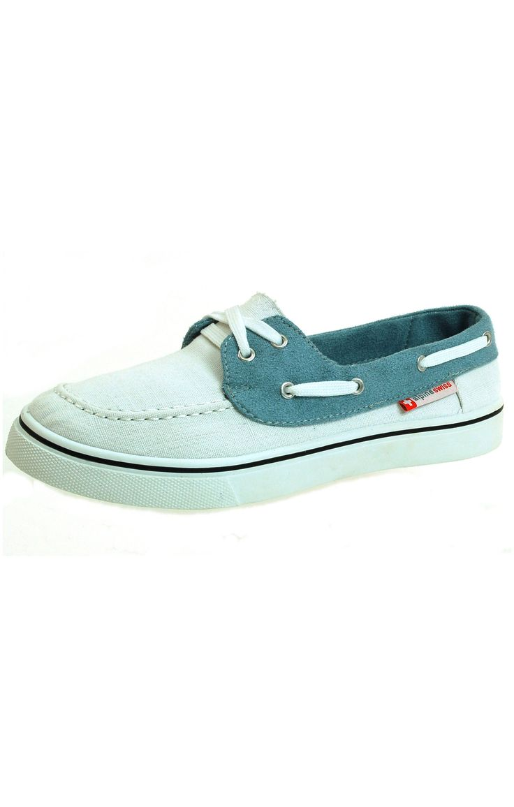 Alpine Swiss Antigua Men's Boat Shoes