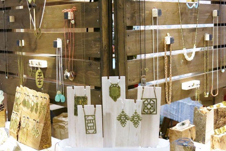 Earthy trade show display ideas pinterest trade show for Jewelry display trade show