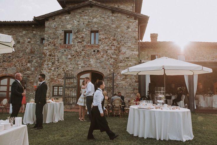 Przepiękny ślub w Toskanii