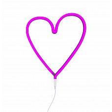 ALLC Neon stijl lamp: Hart - roos