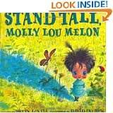 I absolutely LOVE this book!: Stands Tall, Stand Tall, Pictures Books, Children Books, Great Books, Molly Lou, Kid, Self Esteem, Lou Melon