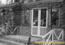 Кз-12 Кованый козырек классической формы http://korolev-kovka.ru/kz12-kovanyj-kozyrek-klassicheskoj-formy/  Кз-12 Кованый козырек классической формы предназначен для входа с площадкой и лестничным пролетом, которые и защищает от осадков данный навес. Конструкция...