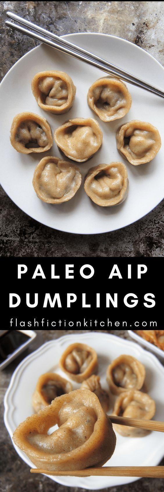 Tigernut flour /// Paleo AIP dumplings from Flash Fiction Kitchen