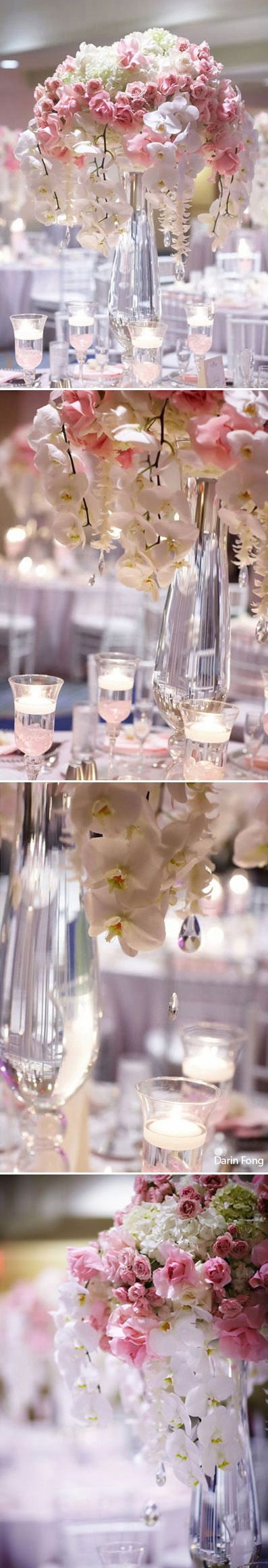 Tablescape Centerpiece ● Pink