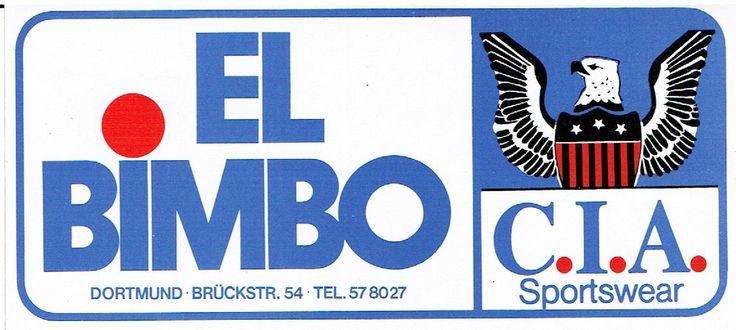 Jeans Geschäft El Bimbo auf der Brückstraße - hier gab es die damalige topaktuelle Mode von Sasch, Edwin & Co.