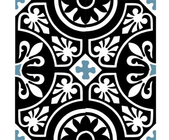 CDC » ENCAUSTIC CEMENT TILES IN STOCK Tile Ref. 150 (shows 4 tiles composition) Matt finish – no glazing applied. In stock colour pigment. Suitable for internal and external applications subject to suitable sealant & frost prevention treatment.