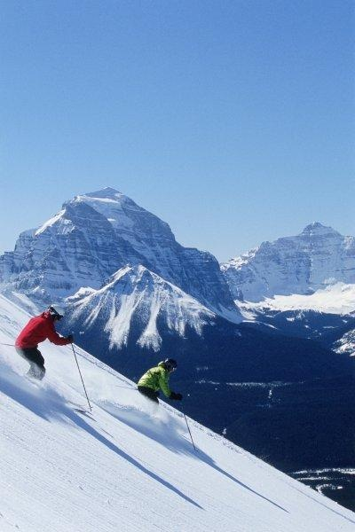Classic view at Lake Louise. Photo: Scott Rowed