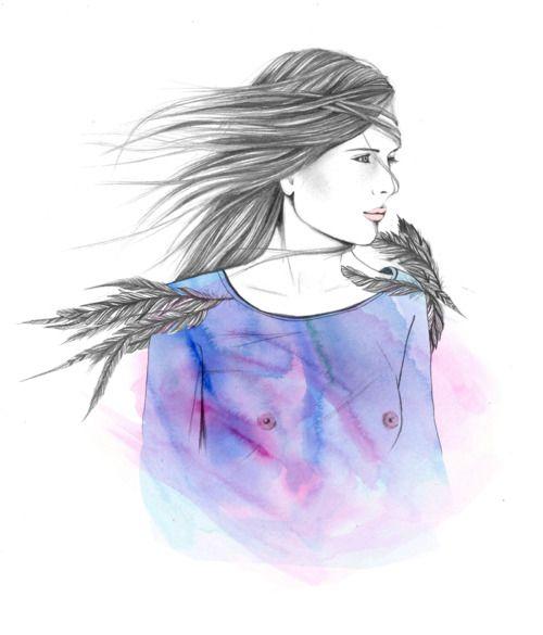 #ElementEdenArtSearch Pencil, Watercolour and Digital colouring. Jade Culton