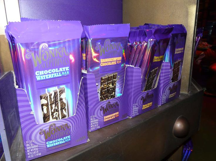 "Le Chocolat "" Willy Wonka"" de Charly et la chocolaterie existe vraiment!!"