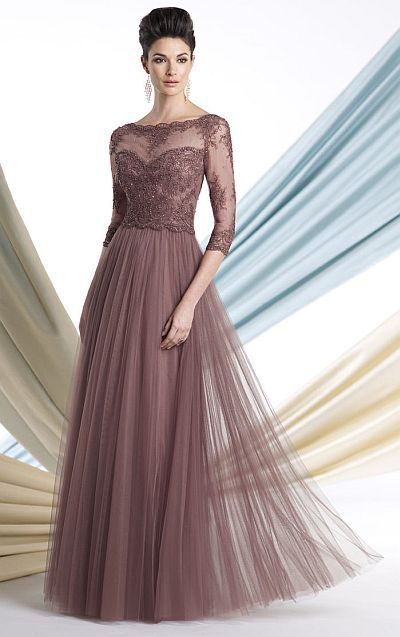 Montage 213980 Mother of the Bride Dress with Lace image