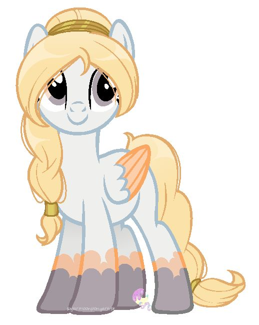 Aries: Aries is a goddess.  Boys flirt with her all the time. She likes to battle and fix broken towns. When Discord destroyed Equestria she fixed it.