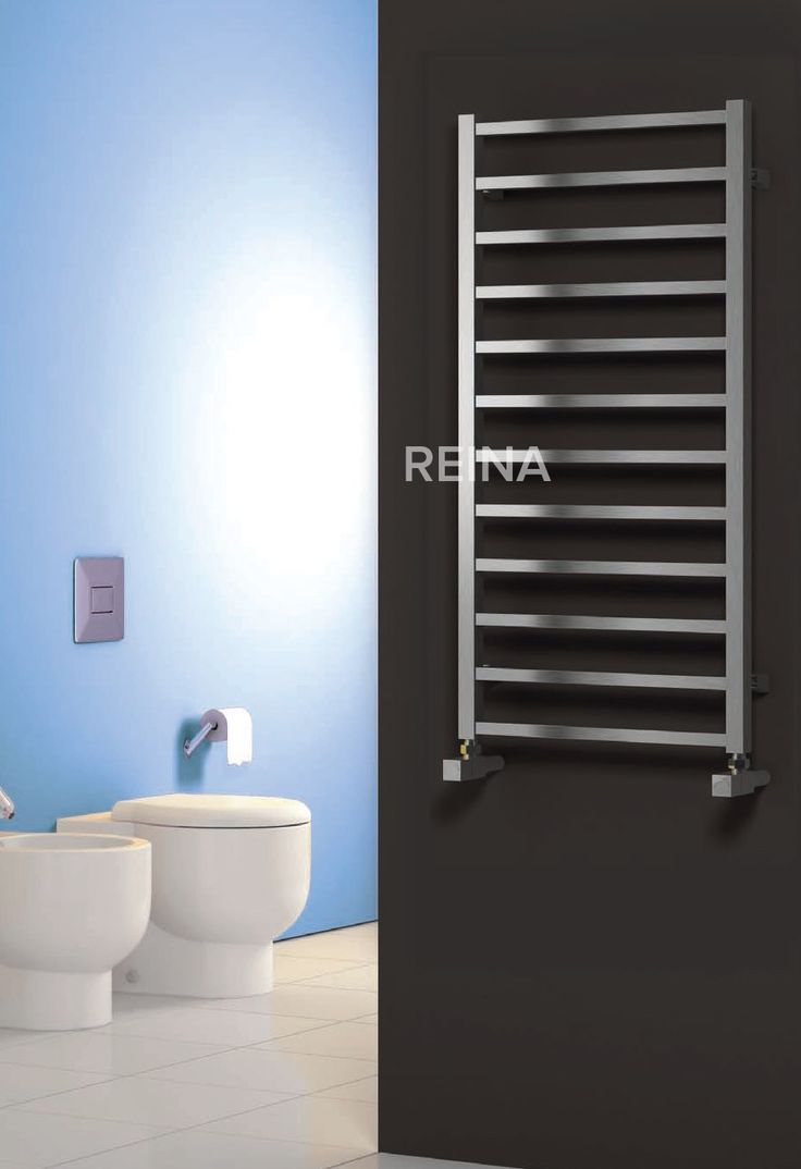 REINA ARDEN STAINLESS STEEL HEATED TOWEL RAILS