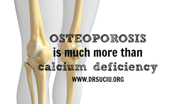 Osteoporosis is a complex disorder...