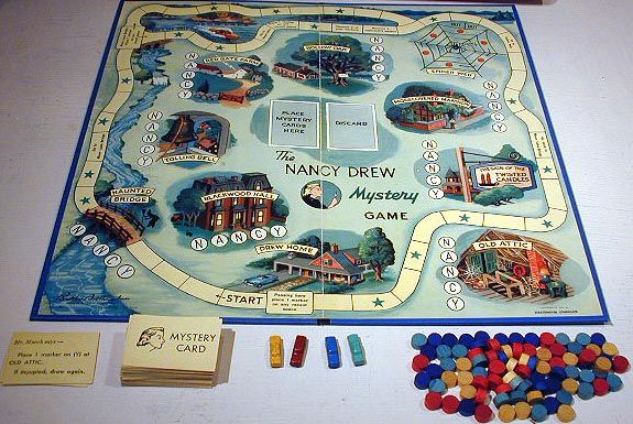 Vintage Nancy Drew board game