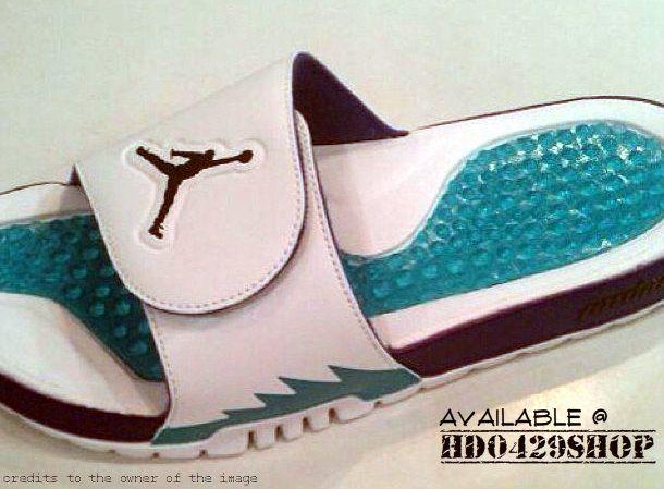 Best Nike Air Lebron Slides Flops South Beach Jade Black Pink 48