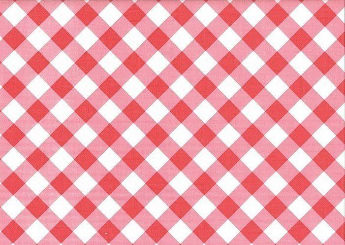 Ubrus PVC s textilním podkladem 5731410, červené káro, š.140cm (metráž) | Internetový obchod Chci POVLEČENÍ.cz