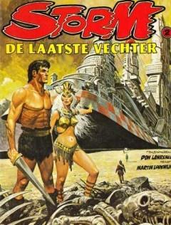 Storm, De kronieken van de diepe wereld no.2 - De laatste vechter door Don Lawrence