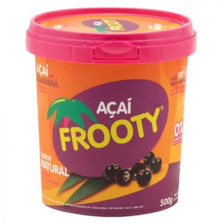 Açai FROOTY com Guaraná Pote 500g