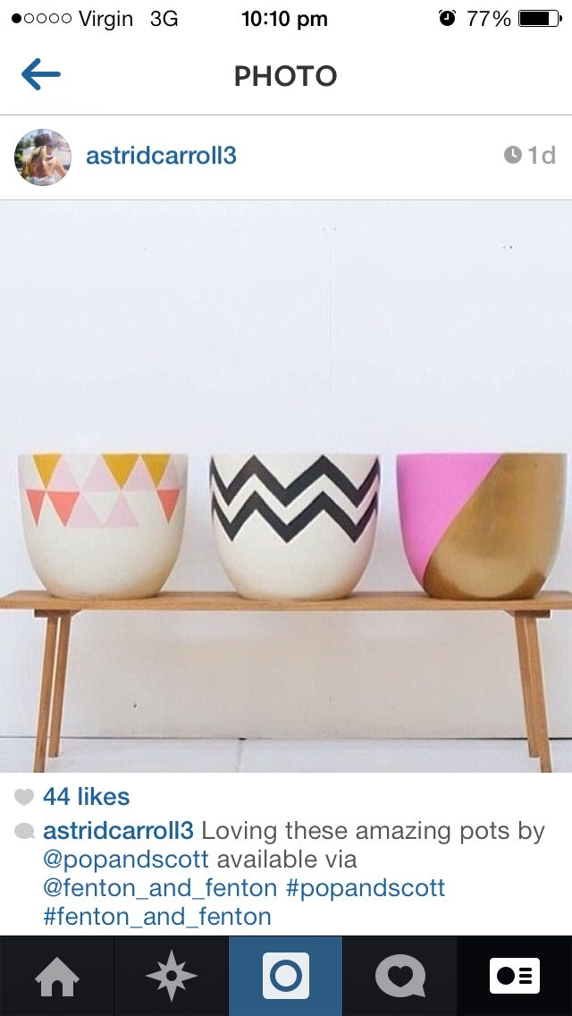 Pop and Scott pots..I want to make this