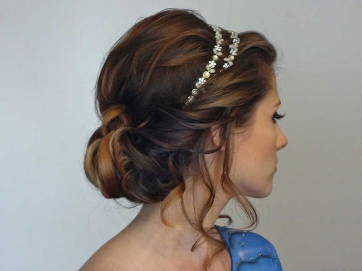 Hairstyle for long hair with beautiful headband :: one1lady.com :: #hair #hairs…