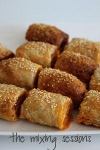 Thermomix Mini Sausage Rolls   The Mixing Sessions