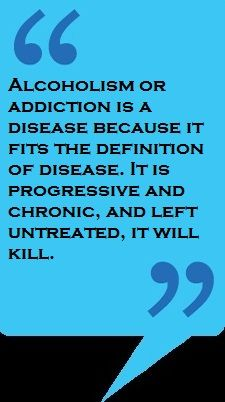 Addiction is a Disease no matter how it manifest itself alcohol drugs sex ect....