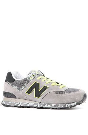 New Balance The Camo 574 Sneaker in Grey