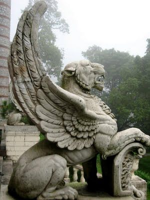 This griffin is very unique because it is infused with a lion