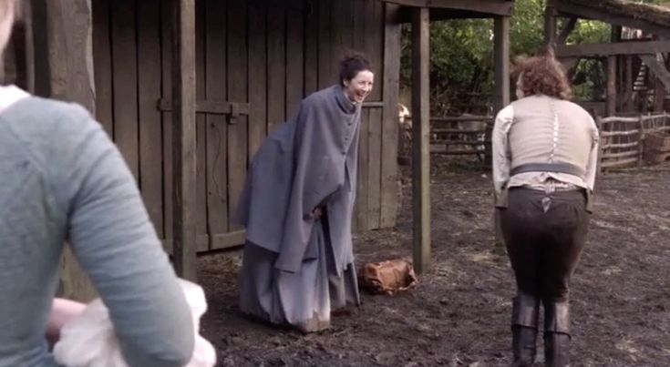 They're Here, They're Here! The Outlander S3 Gag Reels! - Outlander Behind the Scenes