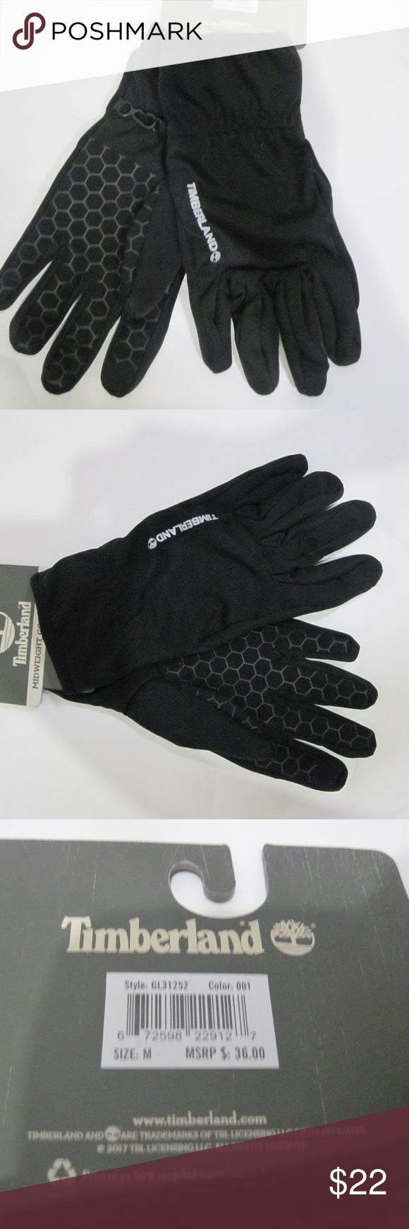 Timberland Men's Glove - Size Medium Touch screen gloves for men.  See photos for additional description. Timberland Accessories Gloves