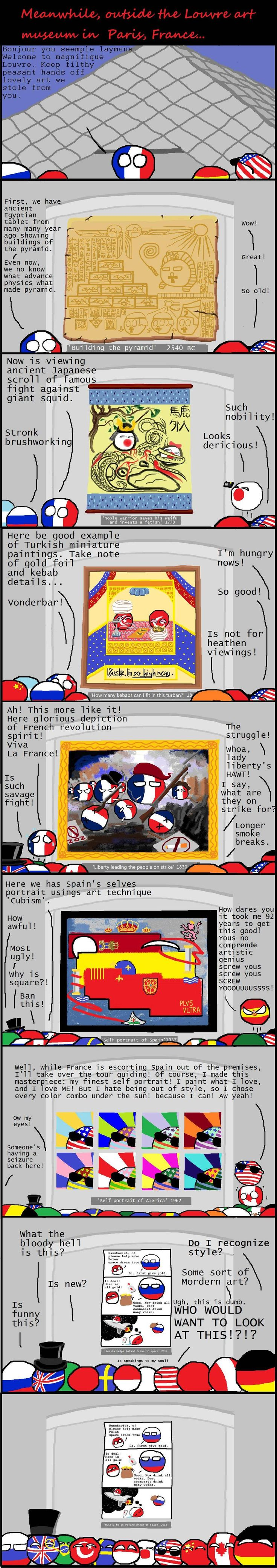Art Tripping With France Weve Been Fourth Walled By Polanball