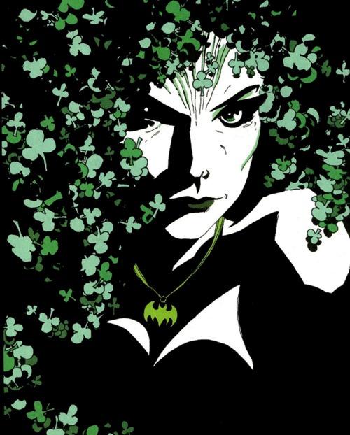 Poison Ivy (Batman, dark victory)  By Tim Sale