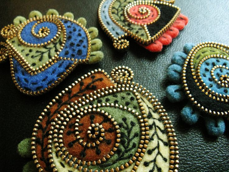 My favorite free form brooches!! | Flickr - Photo Sharing!