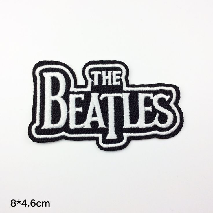 the beatles patch band patch embroidery applique embroidered patches term logo iron on letters iron on